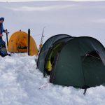 Raid hivernal inuit au Groenland Est