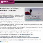 Un Monde d'Aventures à l'honneur sur Altitude Rando