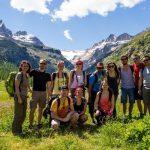 Les randonneurs en Vallée d'Aoste  Crédit Photo ©Jérémy Janin