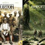 Christian Clot présente deux nouvelles BD d'aventure dans la collection Explora de Glénat
