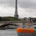 Les premières photos du bateau d'expédition Tara à Paris
