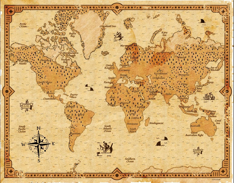 solution de la chasse au tr sor du capitaine kidd sur google map un monde d 39 aventures. Black Bedroom Furniture Sets. Home Design Ideas