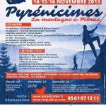 5e édition de Pyrénicimes, le Festival de Montagne et d'Escalade, à Pibrac du 14 au 16 novembre 2013