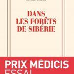 Les lectures d'Aurélia #3 : Dans les forêts de Sibérie, Sylvain Tesson, Prix d'essai Médicis 2011