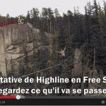 [DANGER] Tentative de traversée en FREE SOLO d'une Highline de 270m de haut !