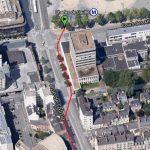 Il va tenter de courir plus vite que le métro de Rennes : Race The Rennes Tube (11 nov. 2014)