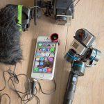 Test Accessoires vidéos outdoor pour Smartphone et GoPro