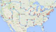 Randy Olson, dont on vous avait parlé la semaine dernière suite à la publication de l'itinéraire idéal pour un «road trip parfait à travers l'Europe«, avait en fait déjà calculé […]