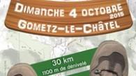 2ème édition du RAND'EXTRÊME 91, le dimanche 4 octobre 2015 à Gometz-le-Châtel Organisée par le Comité Départemental de la Randonnée Pédestre de l'Essonne, avec le soutien de ses partenaires la […]