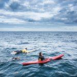 Projet Swin4Ocean – Julien Moreau a nagé de jersey à Saint-malo pour défendre les océans avec Sea Shepherd