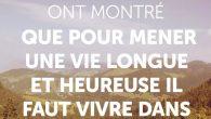 Pourquoi devrait-on vivre en montagne ? Vivre dans la montagne est bon pour la santé Des scientifiques ont montré que pour mener une vie longue et heureuse, il faut vivre […]