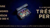 Lancement d'une chasse au trésor ! 1 livre, 11 énigmes et 1 trésor d'une valeur de 50 000 euros à gagner ! Saurez-vous relever le défi ? À la recherche […]