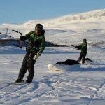 Les 2 explorateurs belges Dixie DANSERCOER et Sam DELTOUR portés par les vents vers le Pôle Sud