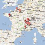La carte des Festivals autour du Voyage et de l'Aventure