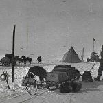 Expo sur les Premiers pas au pôle Sud de Roald Amundsen