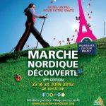 LA MARCHE NORDIQUE S'INSTALLE SOUS LA TOUR EIFFEL