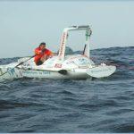 Charles Hedrich – Record de la traversée de l'atlantique à la rame