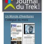 Un Monde d'Aventures sur le Journal du Trek