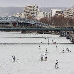 La traversée de Paris en Stand Up Paddle