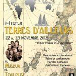 4e Festival Terres d'Ailleurs du 22 au 25 novembre 2012