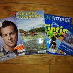 L'aventure dans les magazines – Lectures du week-end