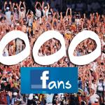 1000 abonnés à notre page Facebook !