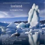"Sortie du livre, exposition et vernissage ""Iceland by Gregory Tran"""