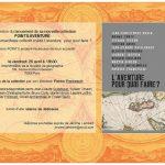 """Soirée de présentation de la collection """"Points Aventure"""" par son directeur Patrice Franceschi"""