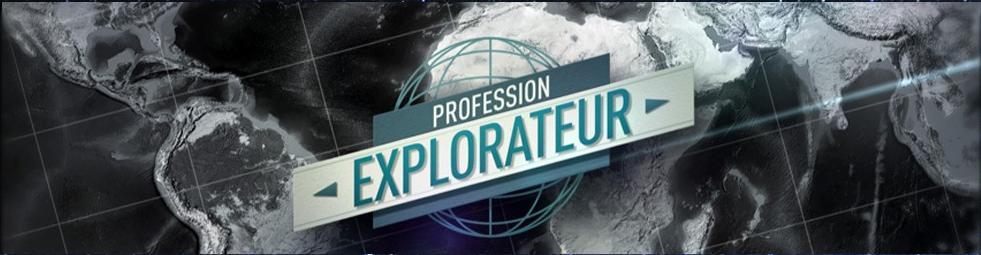 Bandeau Profession Explorateur
