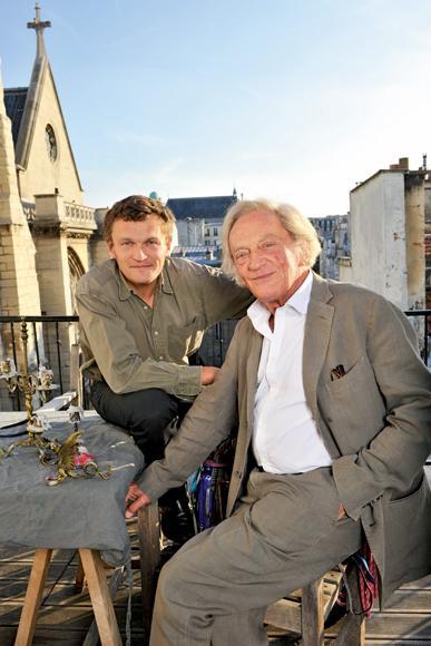 Sylvain et Philippe Tesson
