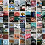 Chiffres de 1 à 1000 dans StreetView en vidéo
