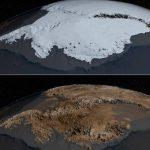 L'antarctique mis à nu !
