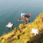 Extrême : vidéo d'un vol en Wingsuit le plus fantastique de tous les temps