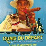 """2e édition du Festival """"Quais du départ"""", le Festival des Livres et des Films voyageurs, du 8 au 10 novembre 2013 à Lyon"""