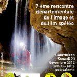 Spelimages 2013, 7e rencontre départementale de l'image et du film spéléo