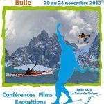 6e Festival des Rencontres de l'Aventure à Bulle (Suisse) du 20 au 24 novembre 2013