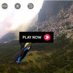 Premier saut en Wingsuit de l'Aguille de l'M au-dessus de Chamonix