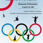 Les Olympiades de Slackline, le dimanche 24 novembre 2013 à Viroflay