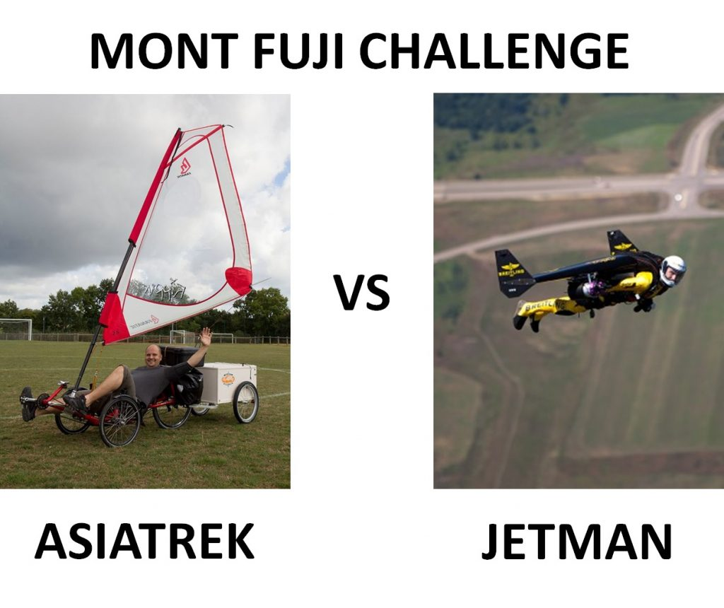 le match Asiatrek vs Jetman
