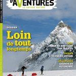 Sortie en kiosque du nouveau numéro #34 du magazine Carnets d'Aventures – Dossier : Loin de tout, longtemps