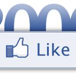 2000 abonnés à notre page Facebook !
