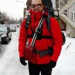Traversée hivernal du Québec à pieds, par Manu Kure