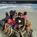 Vidéo d'un tour du monde en 360° degrés : 3 ans de Selfies
