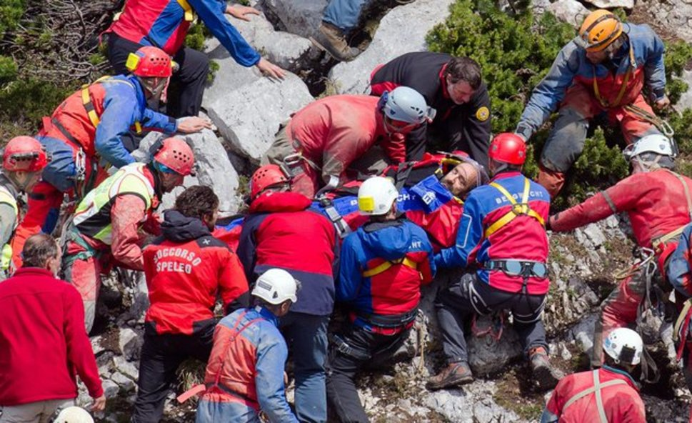 Injured spelunker rescued from deepest cave in Germany