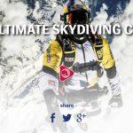 2 français sautent en parachute à 10.000m au-dessus du Mont-Blanc