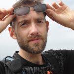"""Sébastien Philippe, un """"Mobil'acteurs"""" qui a marché toute la nuit pour parcourir 80 km sur le trajet Rennes/Saint-Jouan-des-Guérets."""