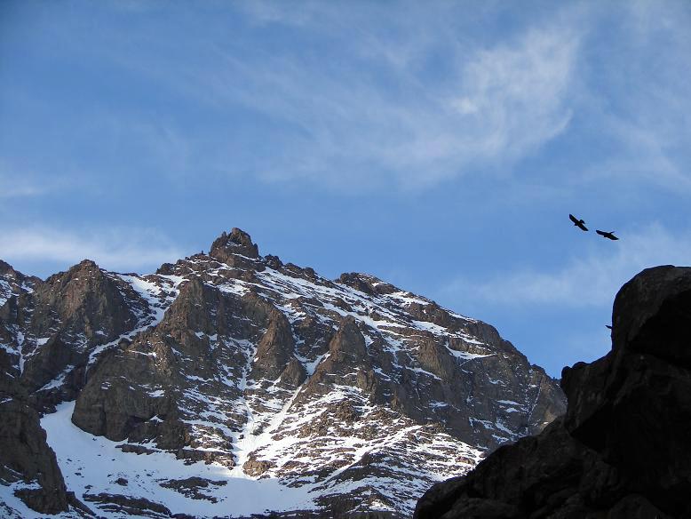 Vue du sommet du Jbel Toubkal.