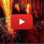 Fantastique : un feu d'artifice filmé de l'intérieur par un drone