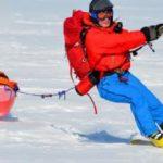 Le pôle Sud d'inaccessibilité en solo : tentative d'une première mondiale par Frédéric Dion à l'automne 2014