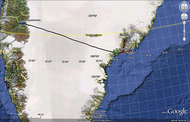 Traversée du Groenland